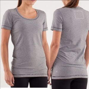 Lululemon Striped Discover Your Future T-Shirt